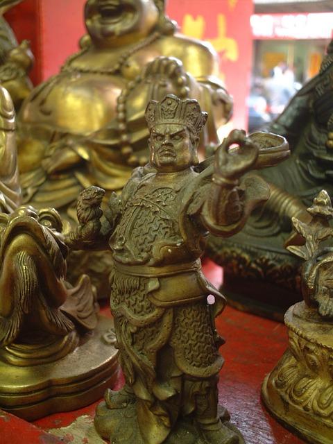 Idol, Crafts, Bronze Statue