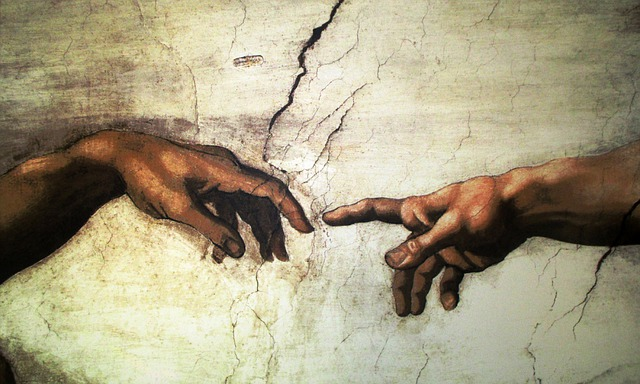 Art Painting, Mural, Michelangelo, Il Creazione D'adamo