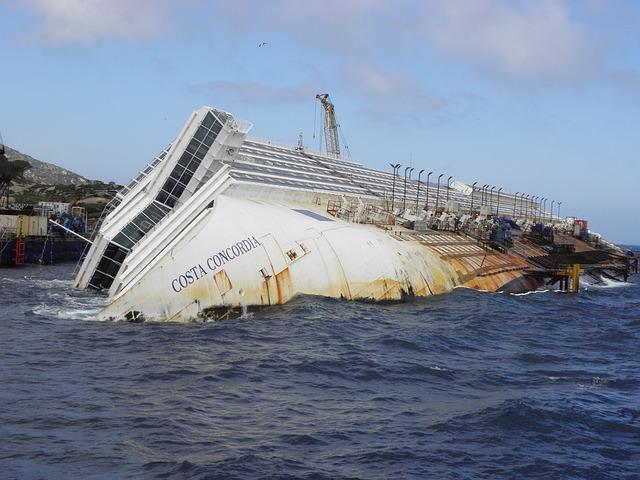 Il Giglio, Costa Concordia, Ship, Passenger Ship, Italy