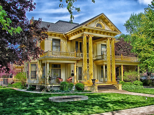 Rock Island, Illinois, House, Home, Landmark, Hdr