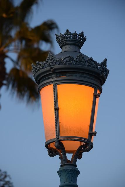 Lamp, Lantern, Sky, Architecture, Vintage, Illuminated
