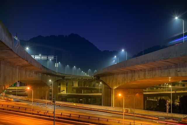 Transport System, Twilight, Tourism, Illuminated, Road