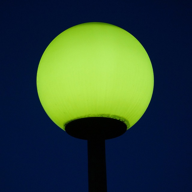Streetlight, Illuminates The, Night, Dark