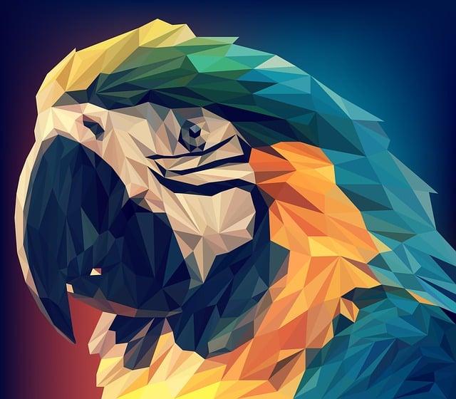 Low Poly, Animal, Vector, Art, Polygon, Illustration