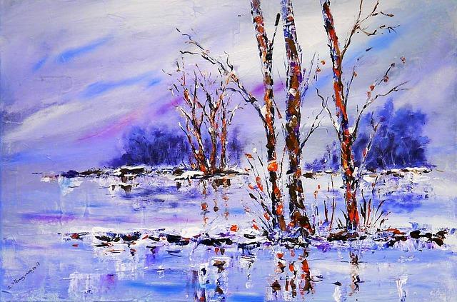 Art, Image, Painting, Landscape, Acrylic Paints