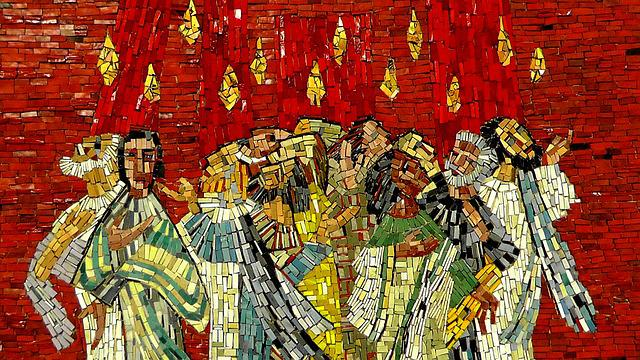 Mosaic, Image, Art, Christen, Believe, Christianity