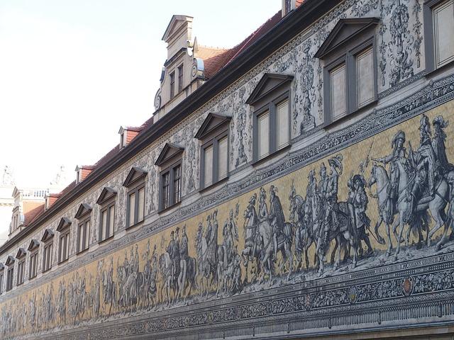 Princes, Dresden, Mural, Image, Reiterzug