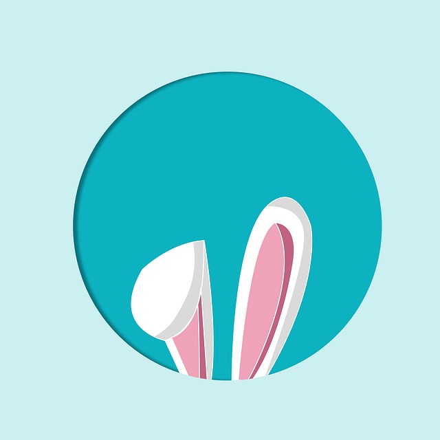 Easter, Easter Bunny, Rabbit Ears, Map, Image