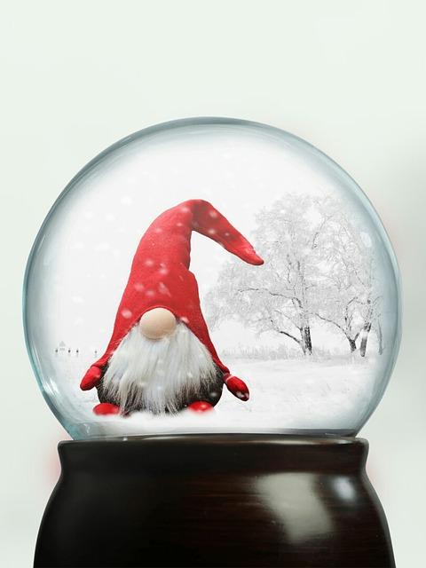 Glass Ball, Ball, Imp, Snow, Snow Ball