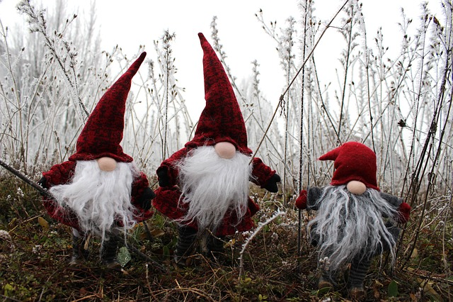 Imp, Santa Claus, Dwarf, Cap, Fig, Nicholas, Red