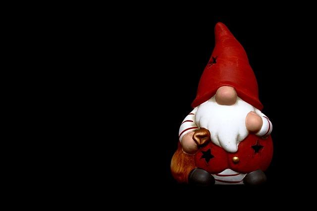 Santa Claus, Nicholas, Christmas Motif, Figure, Imp
