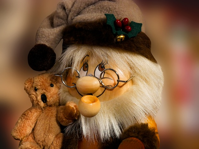 Emotions, Figure, Dwarf, Imp, Bear, Teddy Bear