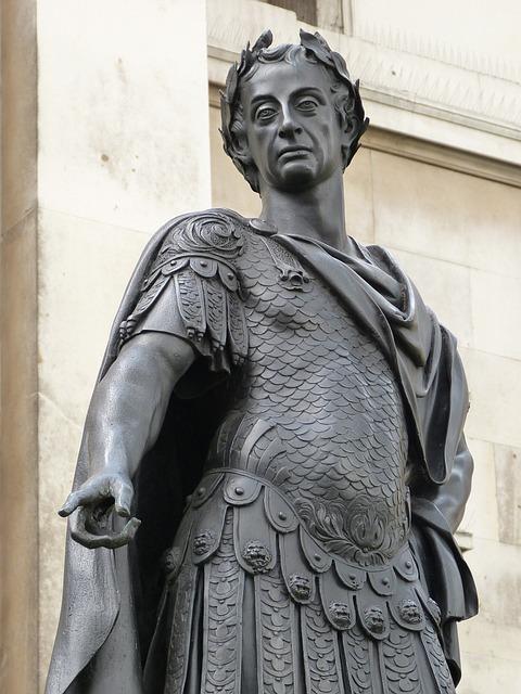 Statue, Monument, Imperator, England, United Kingdom