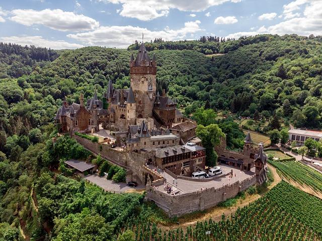 Cochem, Castle, Architecture, Imperial Castle, Imposing