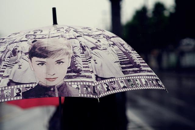 Rain, Umbrella, Raindrop, Impression, Beauty, Rainy