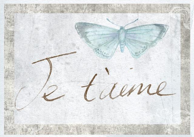 I, Love, You, Je, Taime, I Love You, In Love, Card