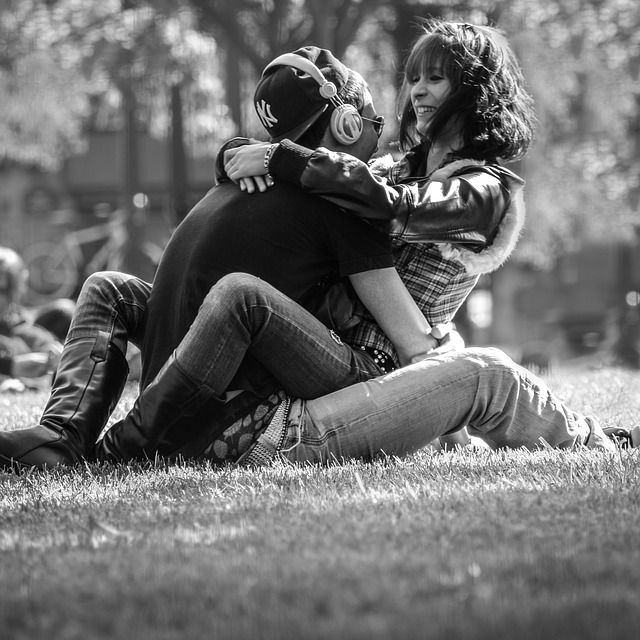 Couple, Youth, In Love, Paris, Park, Young Couple