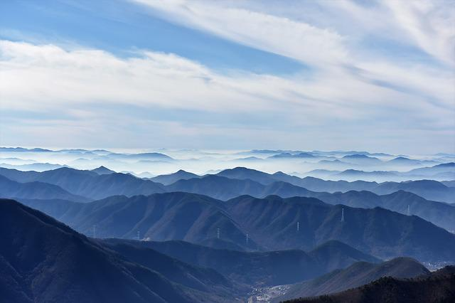 Sky And Mountains, In Normal, Milyang
