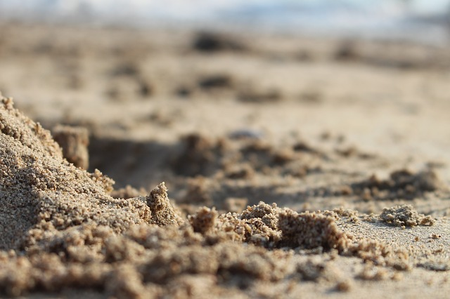 In The Sand, Thailand, Beach, Chonburi, Nature, Tourism