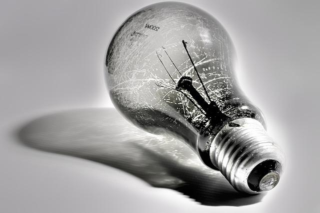 Lamp, Black-white, Incandescent