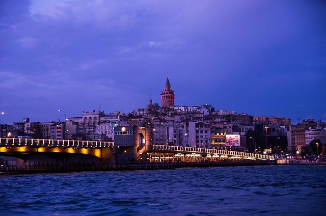 Landscape, Increased, Galata, Istanbul
