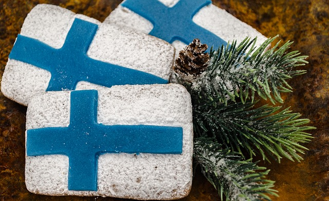 Gingerbread, Cookie, Flag Of Finland, Independence Day