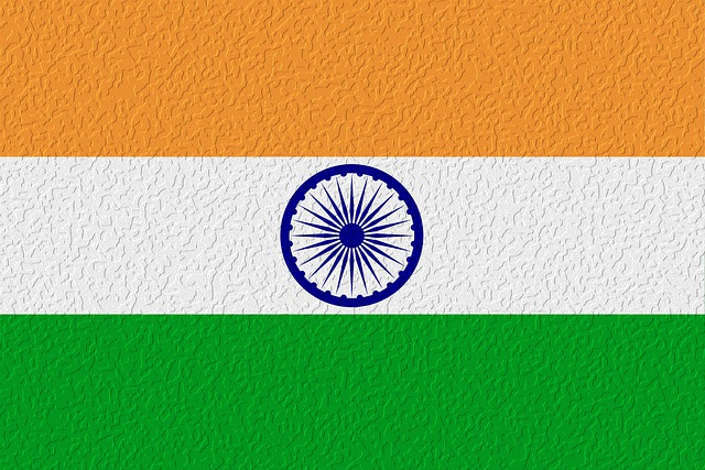 Indian Flag, Oil Paint Effect, Flag, India, Tricolor