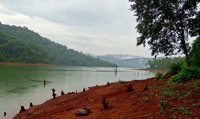 Kali River, Western Ghats, Forests, India, Landscape