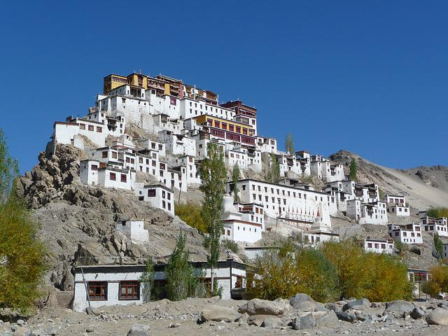 Monastery, Ladakh, India