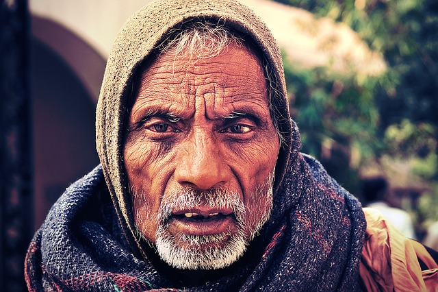 Sadhu, Vrindavan, India, Asia, Travel, Old, Hinduism