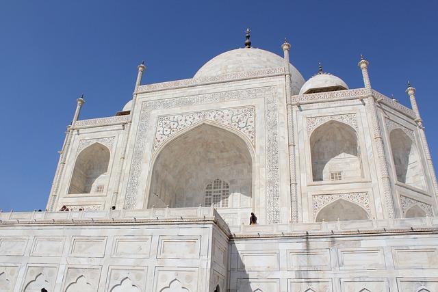 Taj Mahal, India, Agra, Travel, Architecture, Palace