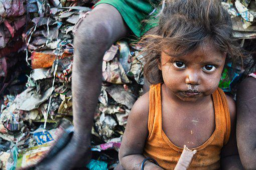 Poor, India, Poverty, People, Culture, Travel, Outdoor