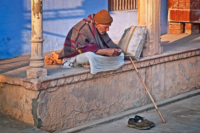 Old Man, India, Sadhu, Asia, Adult, Male, Culture