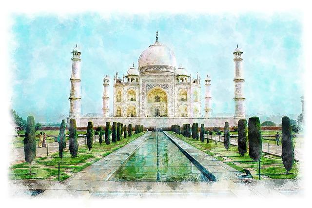 India, Taj Mahal, The Mausoleum, Tourism, History