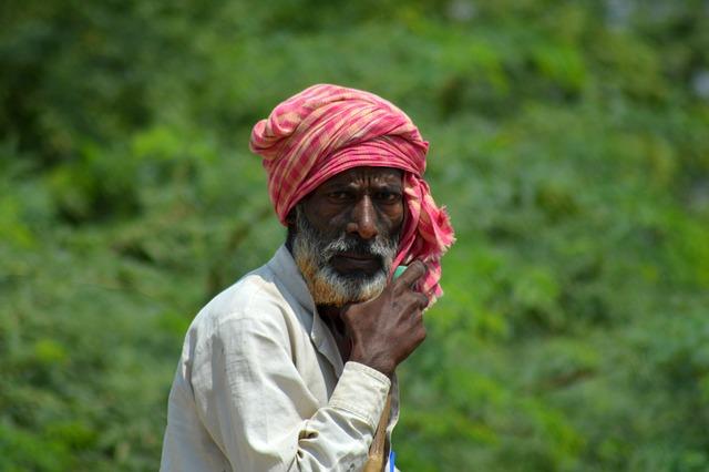 Villager, Old, Village People, India