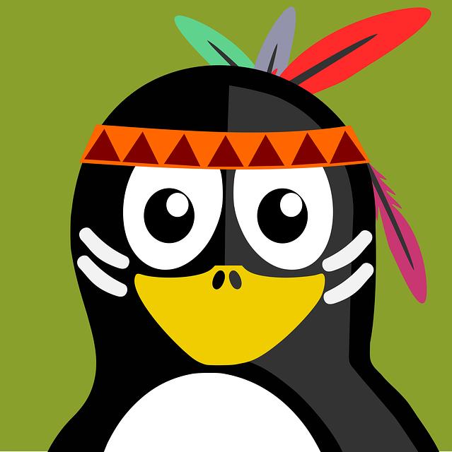 Indian, Tux, Vector, Penguin, Animal