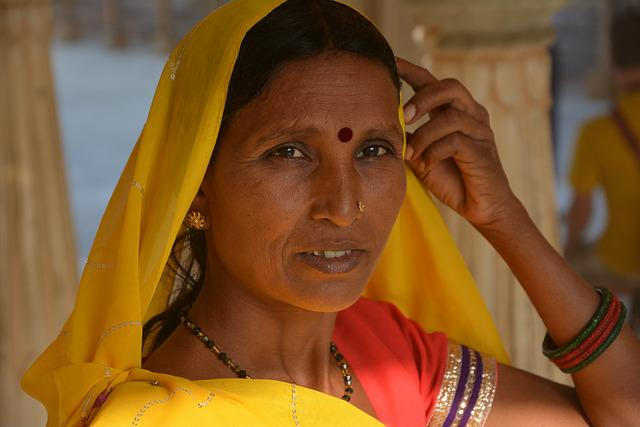 Woman, Indian, Trip, Portrait, Person, Indian Saree