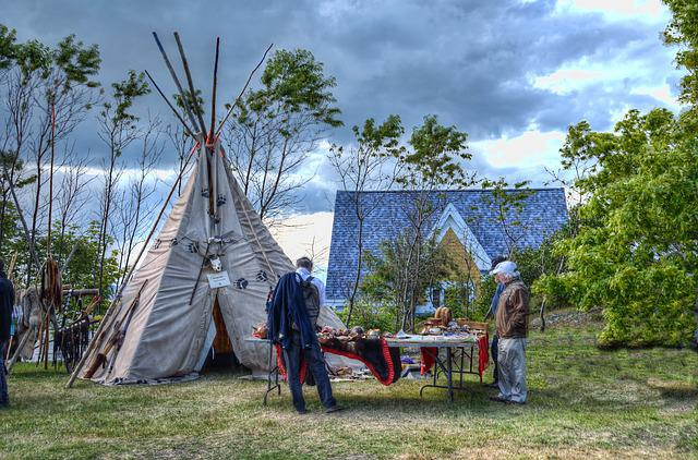 Indian, Seler, Summer, Tipi, Tepee, Tent, Pow Wow