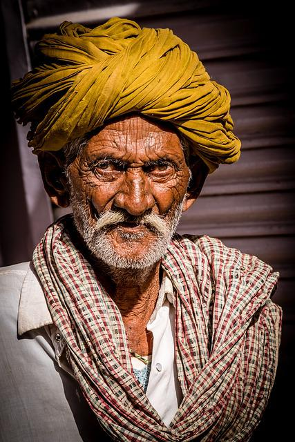 Indians, Portrait, Man, Human, Turban, Face