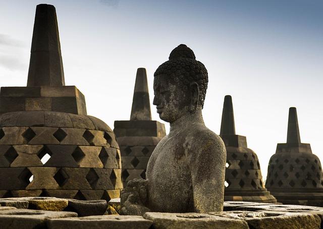 Buddha, Indonesia, Borobudur, Buddhism, Religion