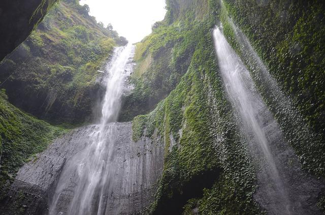 Indonesia, Waterfall, Nature