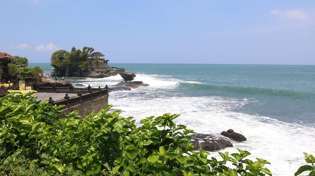 Coast, Ocean, Indian Ocean, Bali, Indonesia, Sea, Water