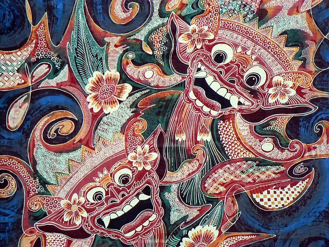 Indonesia, Bali, Batik, Fabric, Printing, Reasons