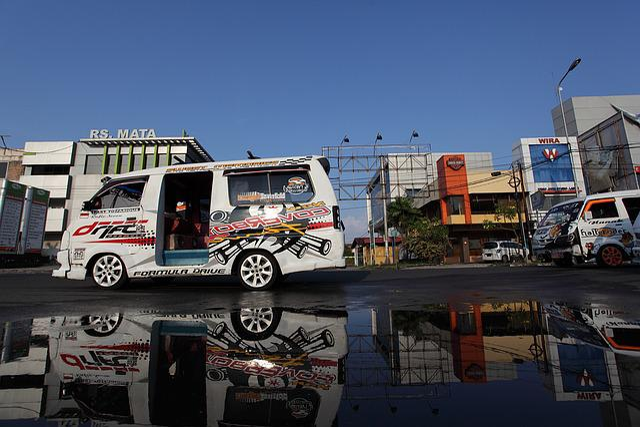 Padang, Public Transport, Indonesia, Car Modification
