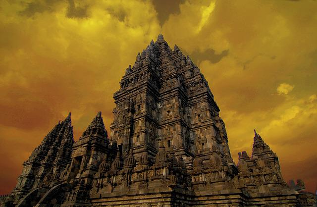 Temple, Prambanan, Java, Indonesia