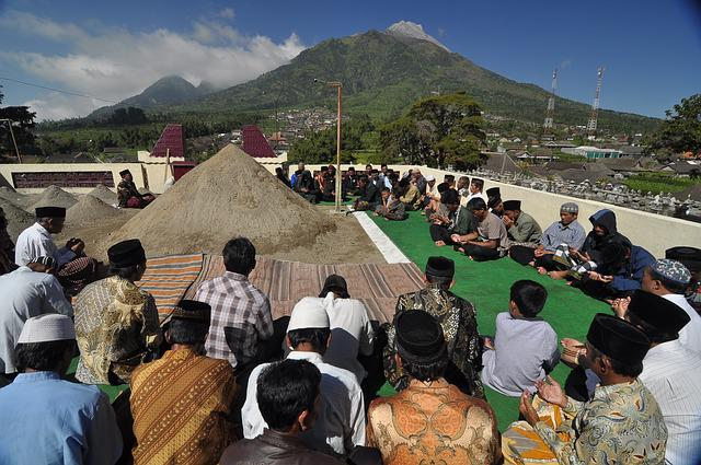 Mount Merapi, Semarang, Man, Central Java, Indonesian