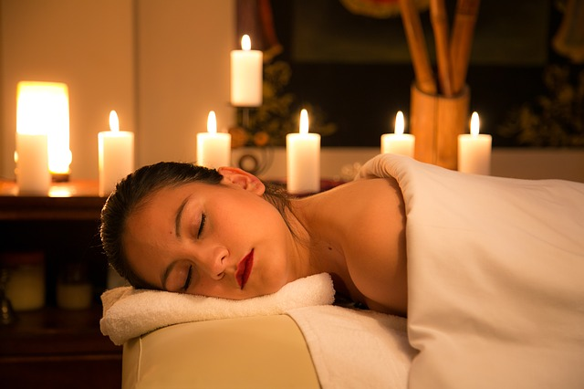 Relaxation, Candle, Room, Indoors, Hotel, Massage