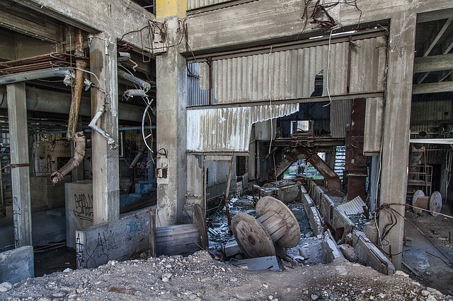 Abandoned Factory, Abandoned, Factory, Industrial