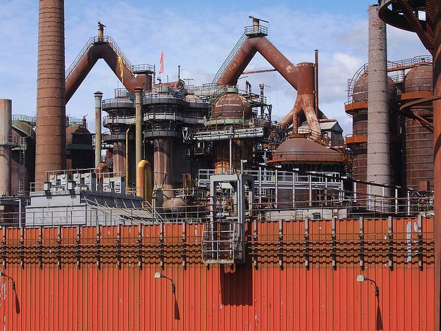 Industrial Monument, Ironworks, Völklingen, Steel
