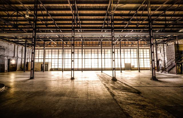 Abandoned, Factory, Hdr, Old, Building, Industrial